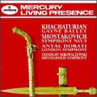 Sym.5: Skrowaczewski / Minneapolis.so Khachaturian: Gayane