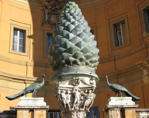8-Pinecone Fountain