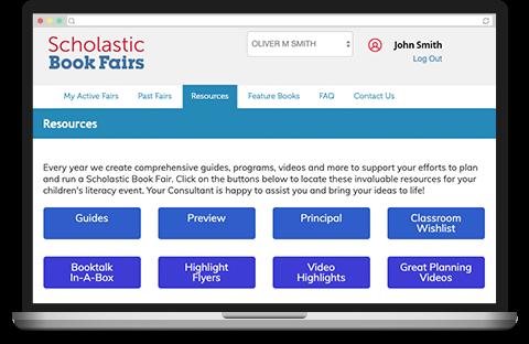 Scholastic Canada Book Fairs Programs