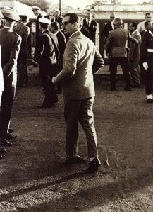 Jânio Quadros, flagrado pela lente de Erno Schneider, em foto premiada