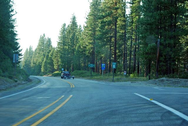 SR 207 at Lake Wenatchee State Park
