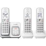 Panasonic Expandable Cordless Phone with Answering Machine - 3 Handsets (KX-TGD533W / KXTGD533)