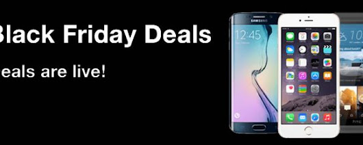 Three Black Friday Deals Live - Save hundreds on the latest smartphones