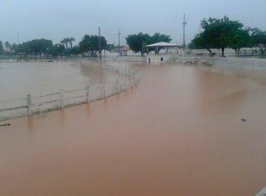 Volume de chuvas na Bahia supera média histórica em 21 dias