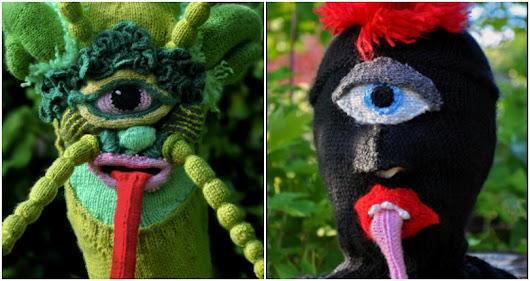 Scary monsters and crocheted creeps: The knitted brutality of Tracy Widdess