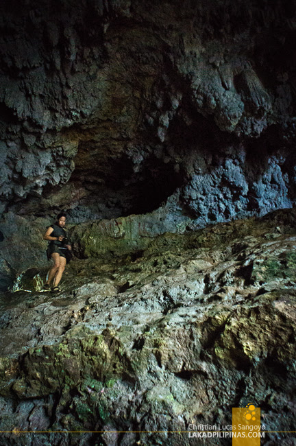 Rocky Surface of Suhot Cave in Dumalag, Capiz