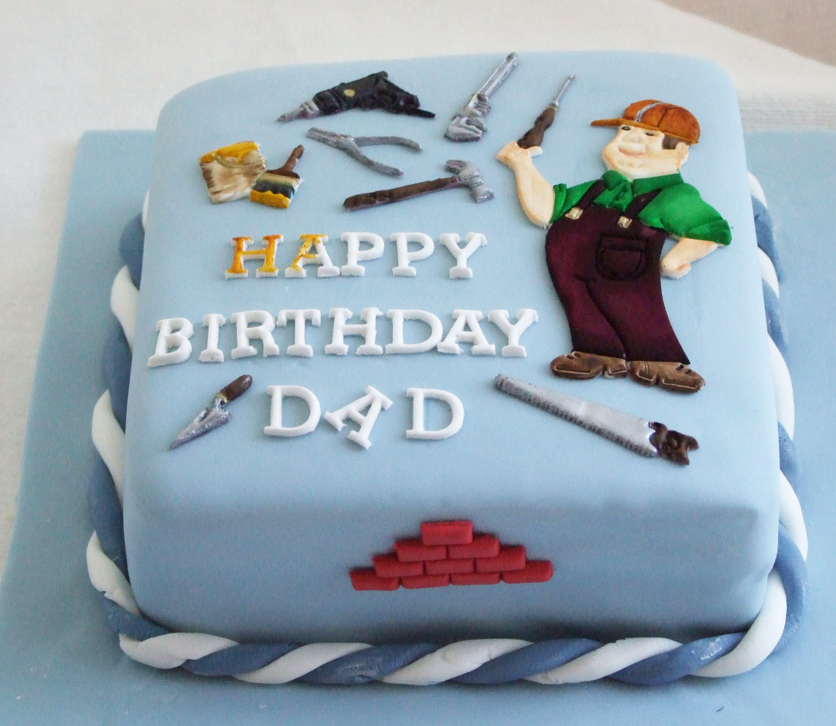 Astonishing Special Birthday Cake For Father Top Birthday Cake Pictures Personalised Birthday Cards Paralily Jamesorg