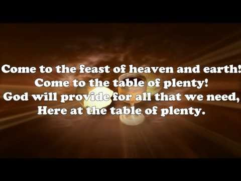 Catholic hymns table of plenty lyrics by daniel schutte stopboris Images