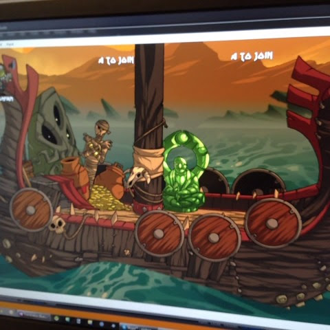 Our gdc demo for #vikingsquad is coming together. Valhellyeah! #screenshotsaturday