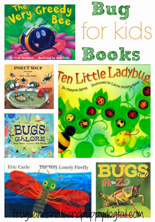 Children Books About Bugs - FSPDT