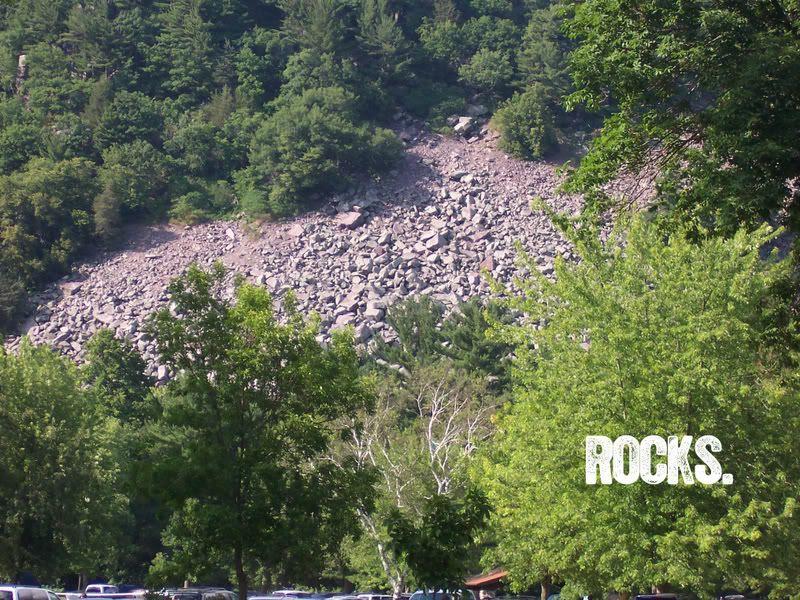 Rockin the rocks.