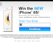 This is your chance To Win the New iphone 6S