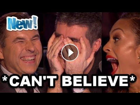 TOP 10 BEST *I CAN'T BELIEVE MY...* NONE SINGERS AUDITIONS - AMERICA'S GOT TALENT 2017!