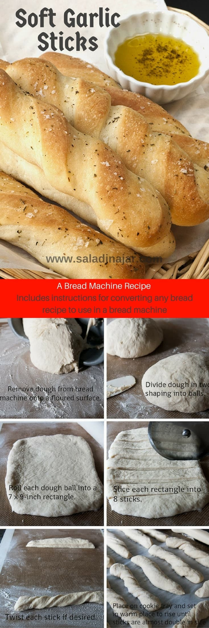 How to Convert a Yeast Bread Recipe to Use in a Bread Machine
