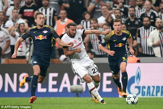 Besiktas have secured top spot in their group but RB Leipzig are still dreaming of progress
