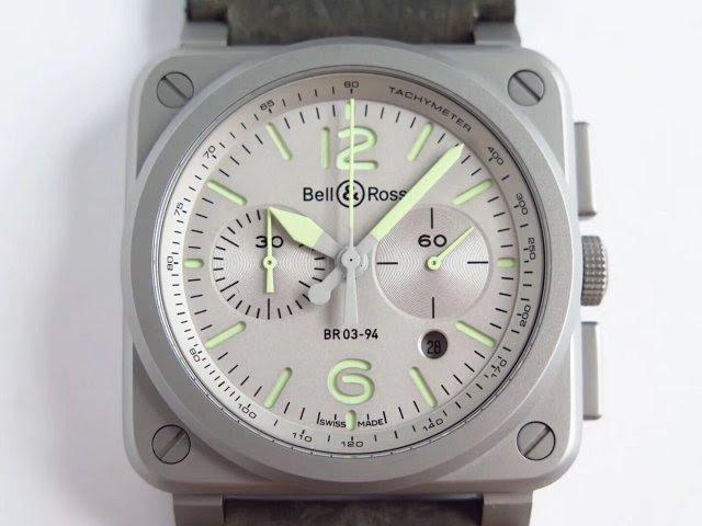 Replica Bell Ross Grey Dial