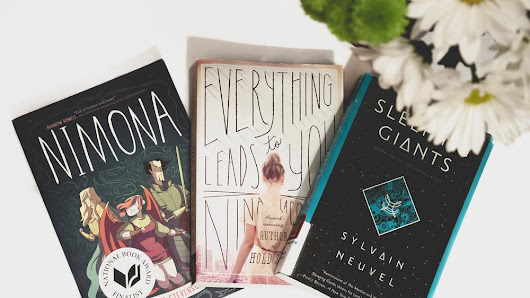 Nimona + Everything Leads to You + Sleeping Giants // Mini Reviews