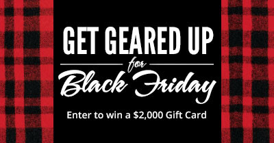 Cabela's Get Geared Up for Black Friday Sweepstakes