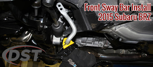 How-to Install a Front Sway Bar on a Subaru BRZ, Scion FRS and Toyota G86 - AftermarketSuspensionParts.com