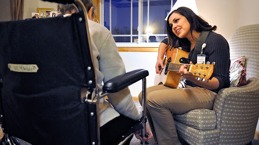 Music therapist helps others tell stories
