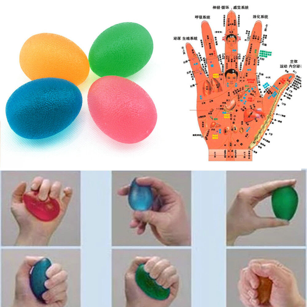 Decompression Vent Ball Egg Squeeze Toys Stress Relief ...