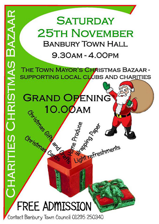 Christmas Bazaar at Banbury Town Hall