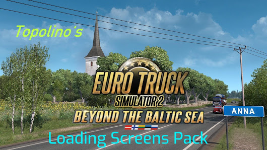 BEYOND THE BALTIC SEA LOADING SCREENS PACK 1.32 MOD -Euro Truck Simulator 2 Mods