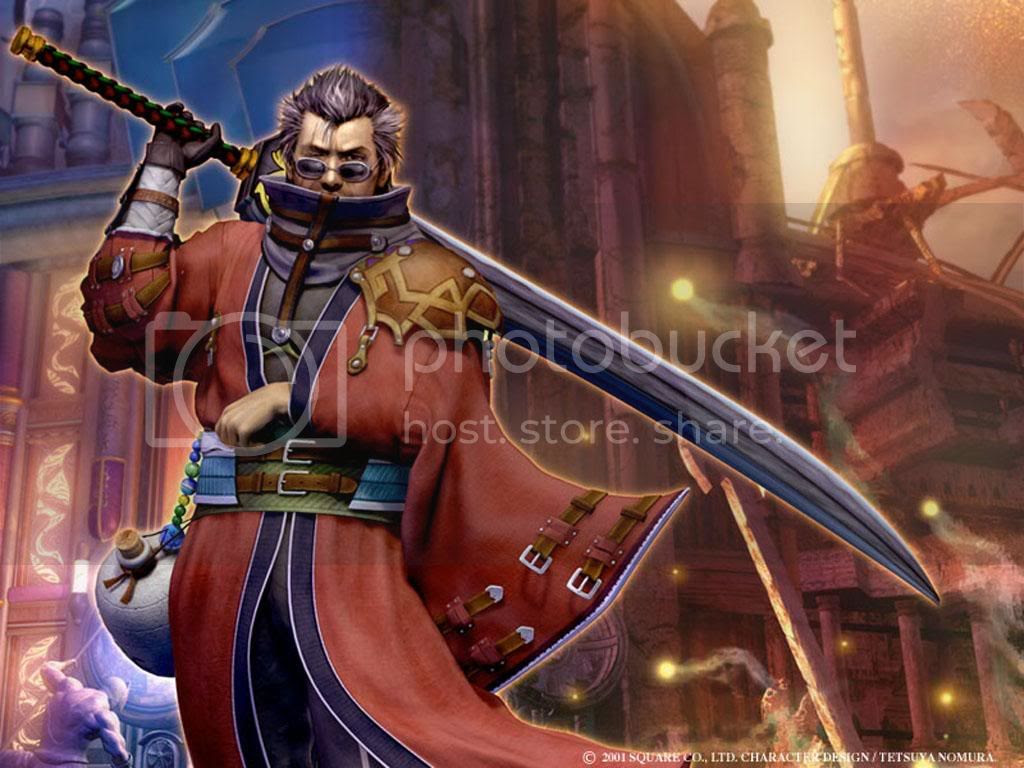 Auron Final Fantasy X Wallpaper