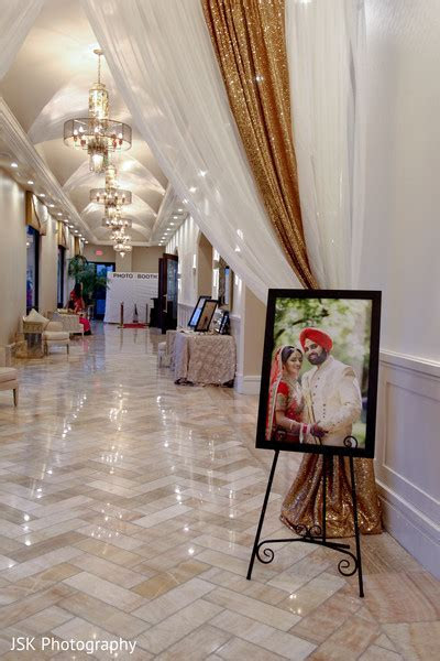 Venue decor ideas in Fremont, CA Sikh Wedding by JSK
