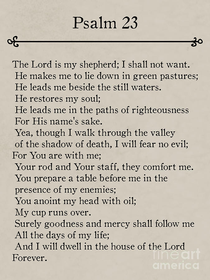 1 psalm 23 bible verse wall art collection mark lawrence