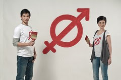 Chris Tiu and Lexi Shulze take the lead in the collective call to _Help Fight HPV._ pix2