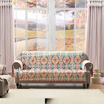 Greenland Home Fashions Joanna's Garden Multi Furniture Protector Sofa