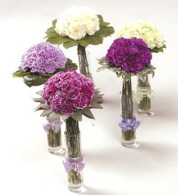 Carnation Centerpieces   Wedding Decorations