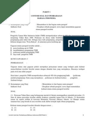 Contoh Soal Cos Dan Jawaban Unsur Instrisik Cerpen Bali Teacher