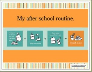 http://www.chasingcheerios.com/2010/09/back-to-school-and-back-to-routines.html