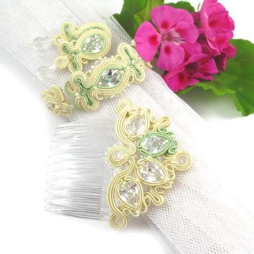 Ślubna biżuteria sutasz PiLLow Design