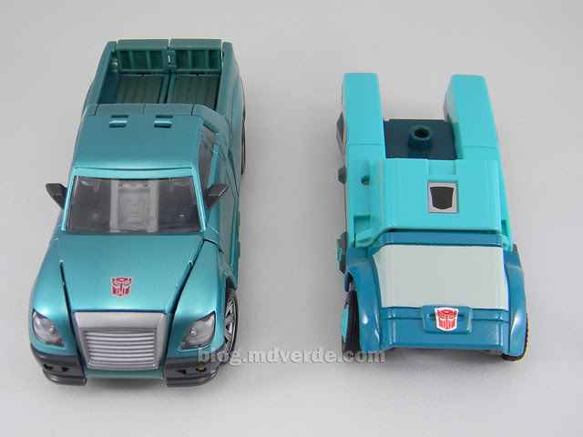 Transformers Kup United Deluxe - modo alterno vs G1