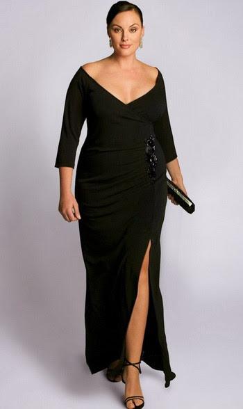 Elegant evening dresses plus size