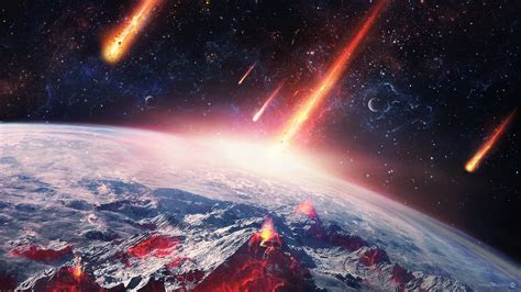 earth meteors space universe wallpapers hd desktop
