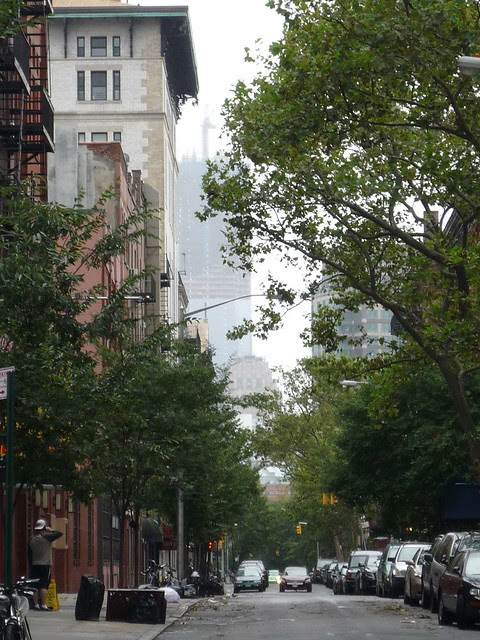 Aftermath of Irene: The View from Greenwich Village