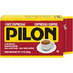 Pilon Arabica Blend Espresso Roast Dark Roast Ground Coffee - 10oz