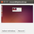 Record screen activity to video on Ubuntu Linux