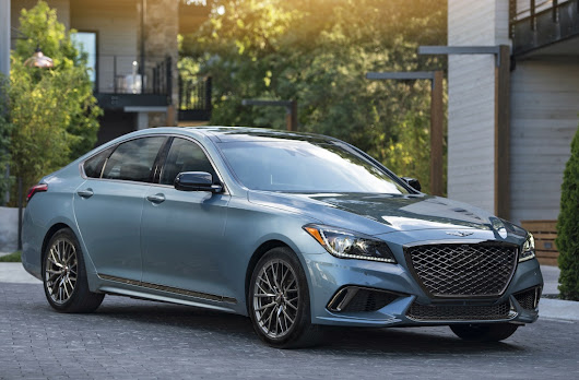 Genesis luxury brand adds G80 Sport with all-wheel drive to its 2018 lineup