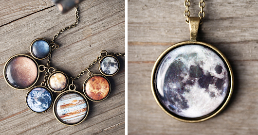 Space Jewelry That Lets You Carry A Piece Of The Cosmos With You