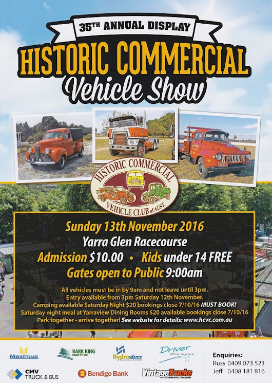 Home - Historic Commercial Vehicle Club of Australia