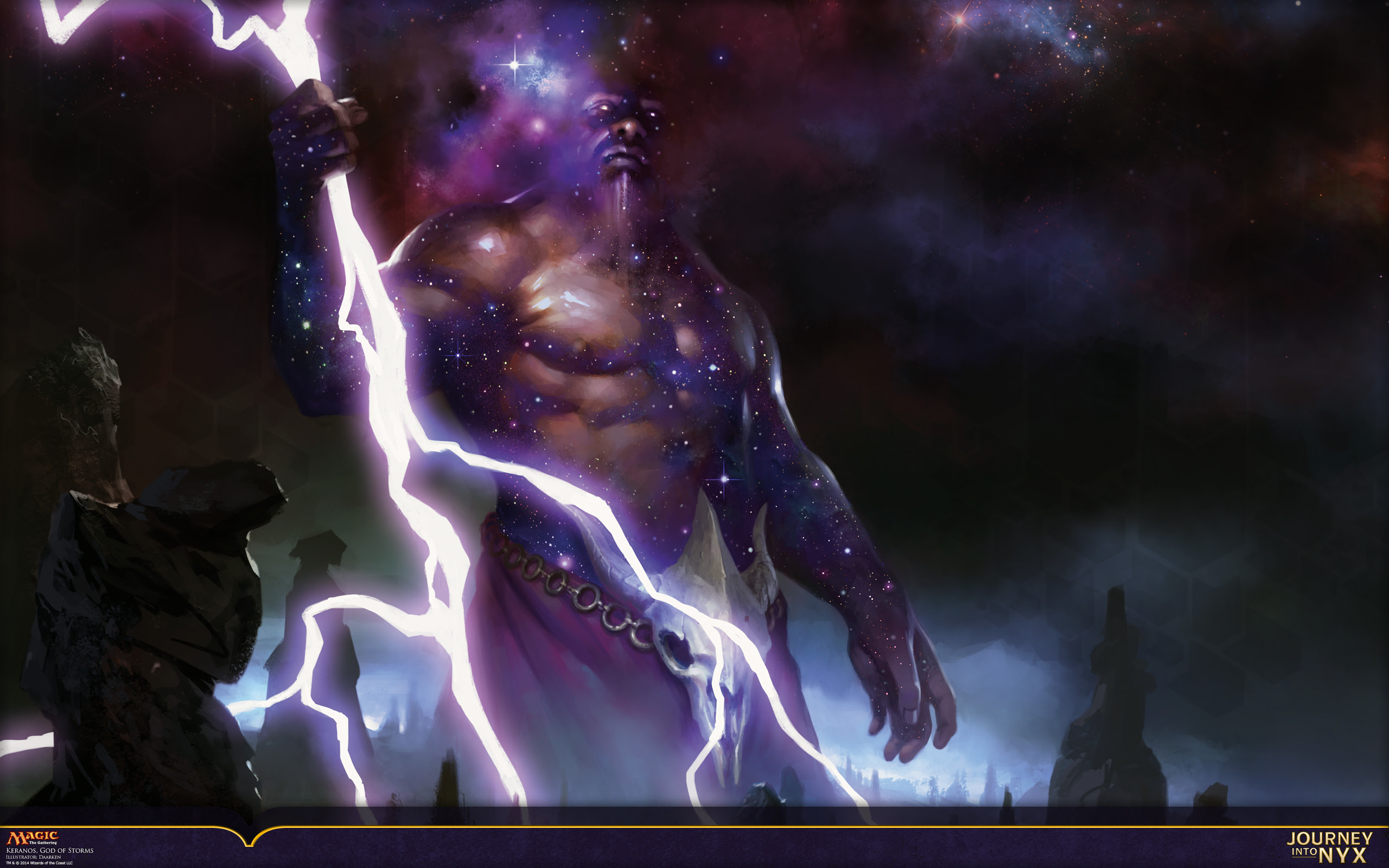 Wallpaper Of The Week Keranos God Of Storms Magic The Gathering