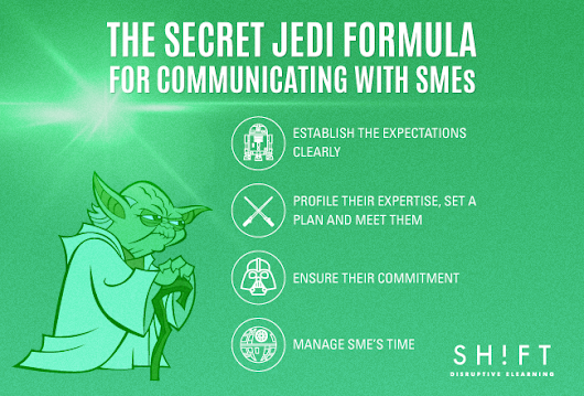 The Secret Jedi Formula for Communicating with SMEs