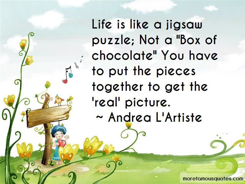 Quotes About Puzzle Pieces And Life Top 27 Puzzle Pieces And Life