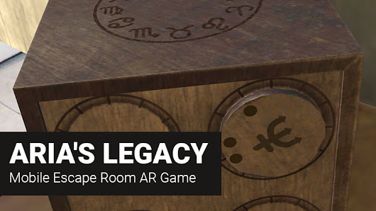 ARia's Legacy Review in Progress - AR Escape Room Game