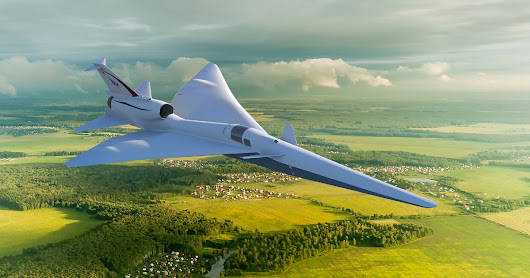 lockheed martin to develop quiet supersonic X-59 jet for NASA